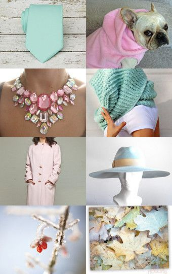 Pastels in all Seasons! by Jessica Delgado on Etsy--Pinned with TreasuryPin.com