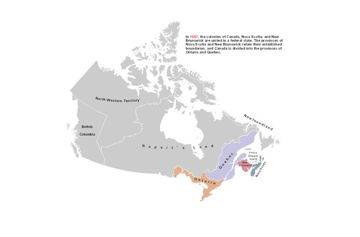 WEBSITE: Territorial Evolution | Natural Resources Canada: animated map that shows the changes to political boundaries over time. From Government of Canada