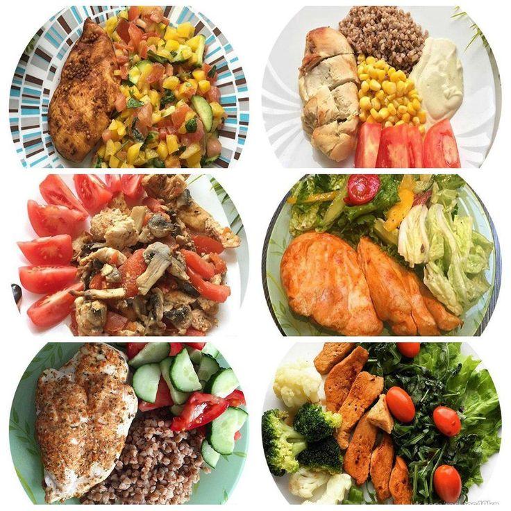 Лучшее дополнение к куриному филе: 6 идей   1. Куриное филе запеченное в горчице + гречка + кукуруза консервированная + помидор + йогурт  2. Куриное филе запеченное с помидором и грибами + помидор  3. Куриное филе запеченное в специях + греча + помидор + огурец  4. Куриное филе запеченное в соевом соусе + Салат (листья салата + огурчик + болгарский перец + петрушка + помидор + оливковое масло)  5. Куриное филе запеченное в горчице с лимоном + салат (помидоры + огурец + болгарский перец…