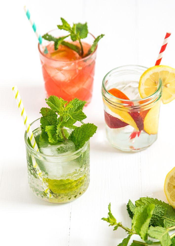 gin tonic recepten (peach watermelon smoothies)