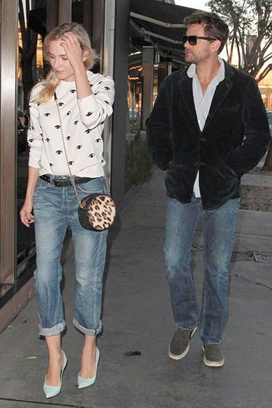 6 Fashionable Celebrities Wearing Baggy Jeans | Who What Wear