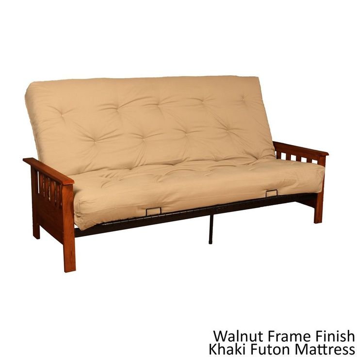 Futon frame queen size roselawnlutheran for Mission style futon assembly instructions