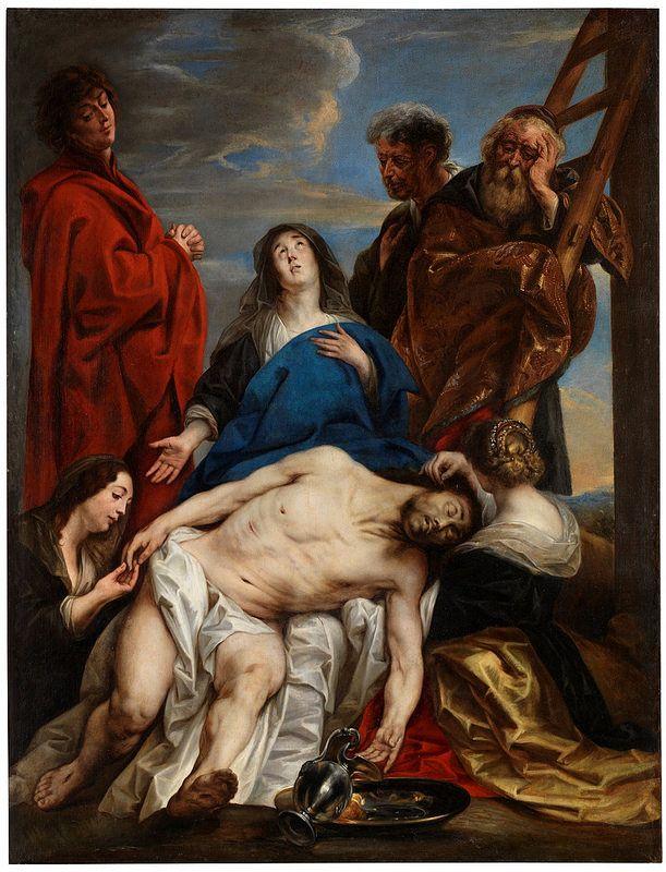 Jacob Jordaens, Pietà | da HEN-Magonza