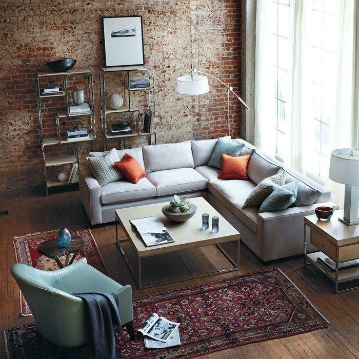 Die besten 25+ Ecksofa Ideen auf Pinterest Sofa, Ecksofa Design - teppich wohnzimmer grose