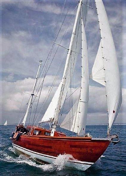 Wooden Sailboat!