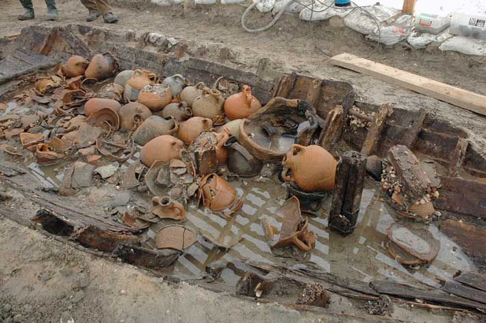 The largest group of Byzantine shipwrecks ever unearthed is among our 10 Greatest Wrecks http://bit.ly/1F8mNRt