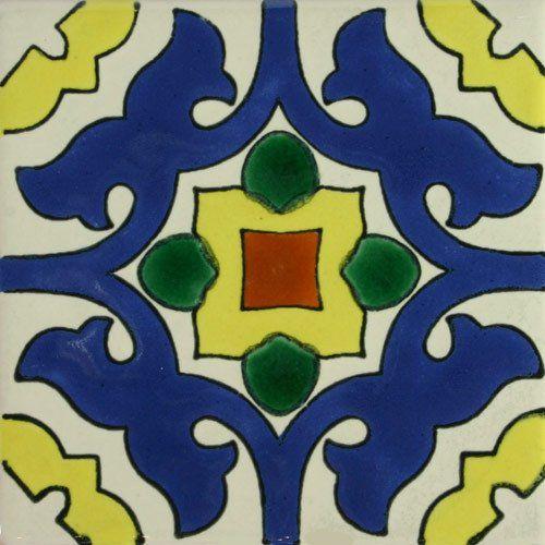 Especial Decorative Tile - Aura Azul – Mexican Tile Designs