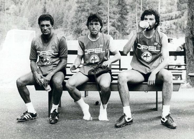 Gentile, Passarella & Sócrates.Fiorentina,1984