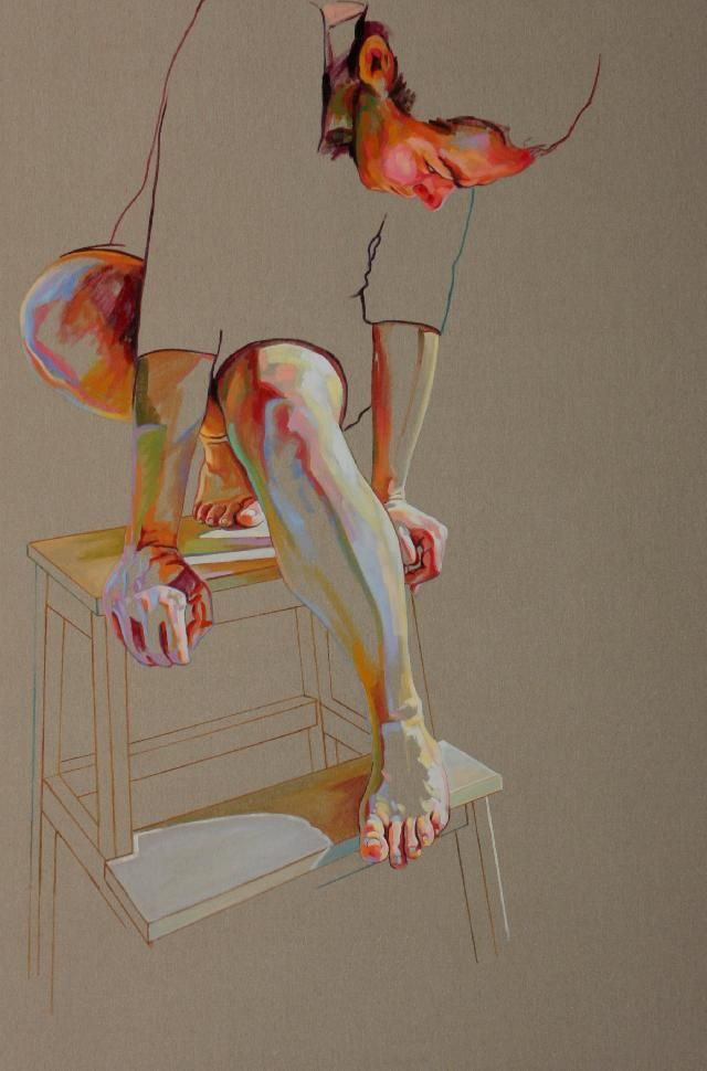 Cristina Troufa    I love it when skin colors used in paintings/drawings are surreal, but make something that looks realistic.