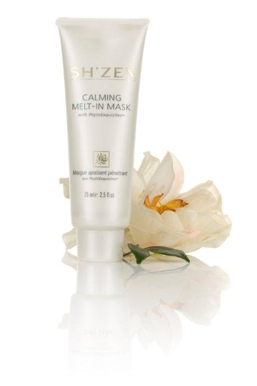 Calm, nourish and feed skin with the #ShZen Calming Melt-in Mask  http://www.shzen.co.za/face_phytoexquisites.php