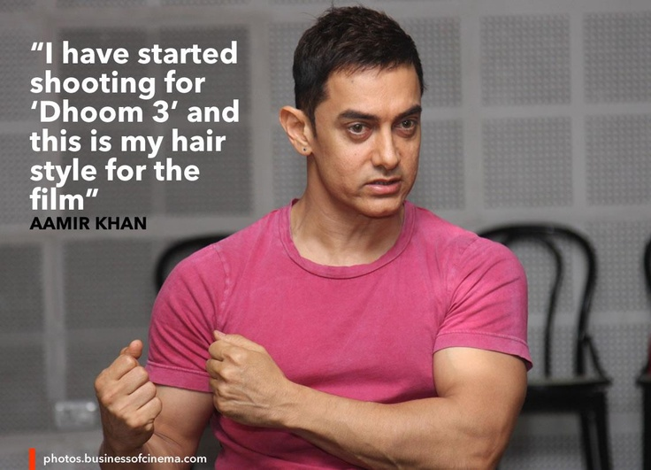 Aamir Khan about Dhoom 3