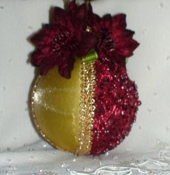 Shabby Chic Christmas Balls 26 by ShabbyChicXmas on Etsy