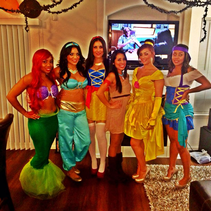 Disney Princess DIY Halloween Costumes