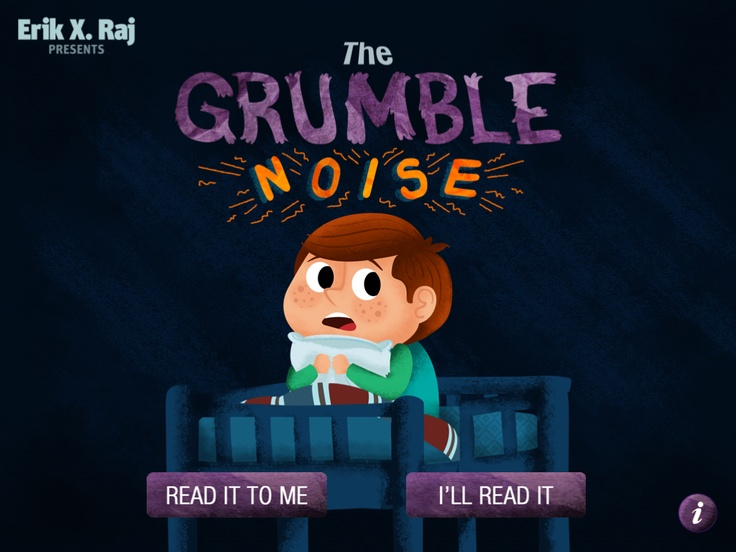 The Grumble Noise App-story with many pictures and interactive features. Review from Let's Talk Speech and Language. Pinned by SOS Inc. Resources @sostherapy.