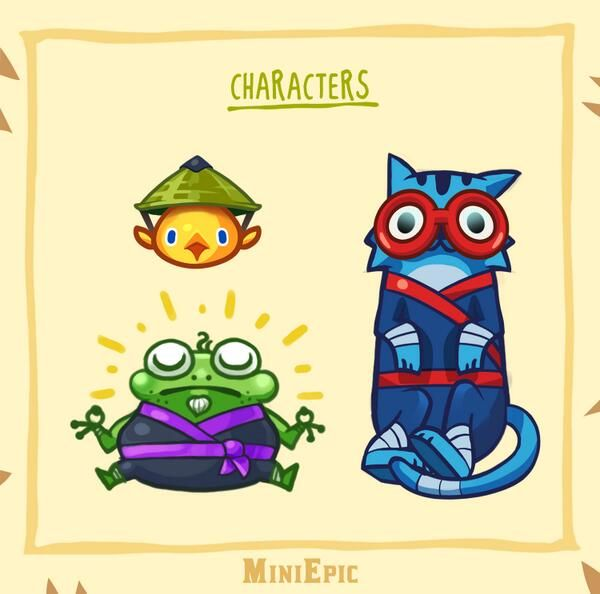 MiniEpic Twitter. Mini Dodge Ninja is Available Free on iOS and Android now! www.MiniEpic.com