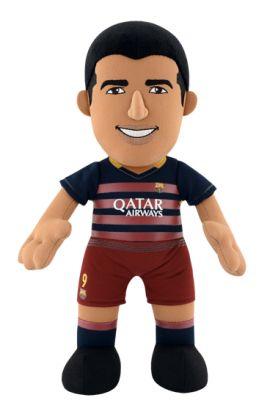 Poupluche Luis Suárez 25 cm - FC Barcelone - Saison 2015/16 - 24,90 €