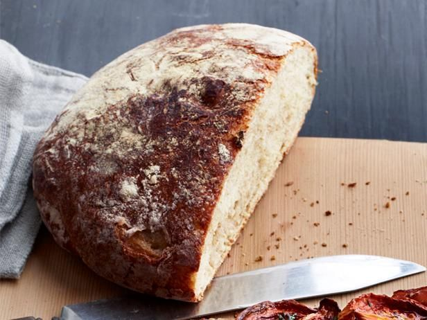 Get No-Knead Peasant Bread Recipe from Food Network