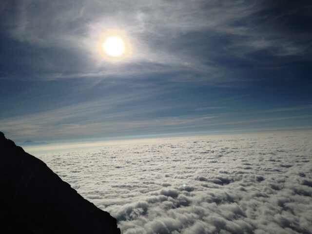 Ascending Mt. Agung