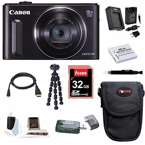 Canon Powershot SX610 HS (Black) w/ 32GB Deluxe Accessory Bundle review - http://www.bestseller.ws/blog/camera-and-photo/canon-powershot-sx610-hs-black-w-32gb-deluxe-accessory-bundle-review/