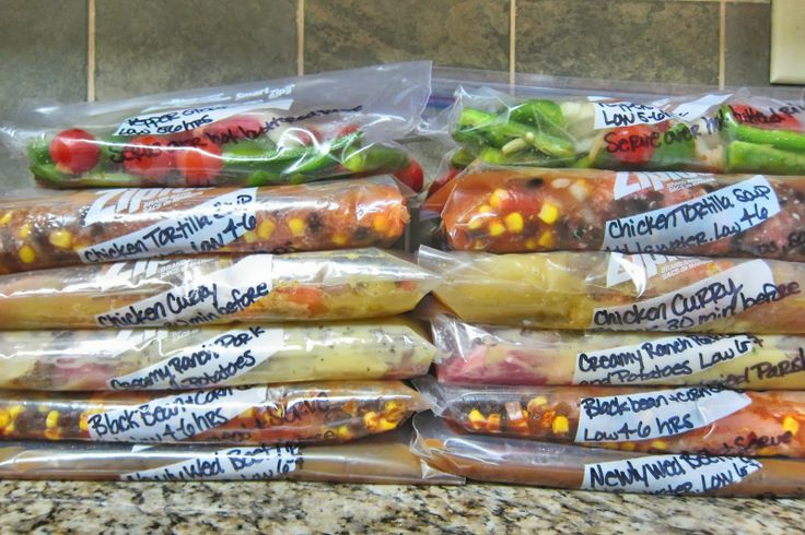 The Realistic Organizer: {Organized} Slow Cooker-Freezer Meals