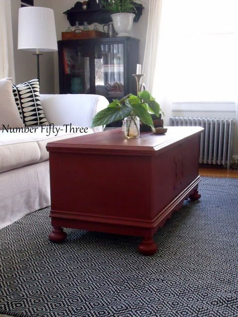 Number Fifty Three: Vintage Red Cedar Chest