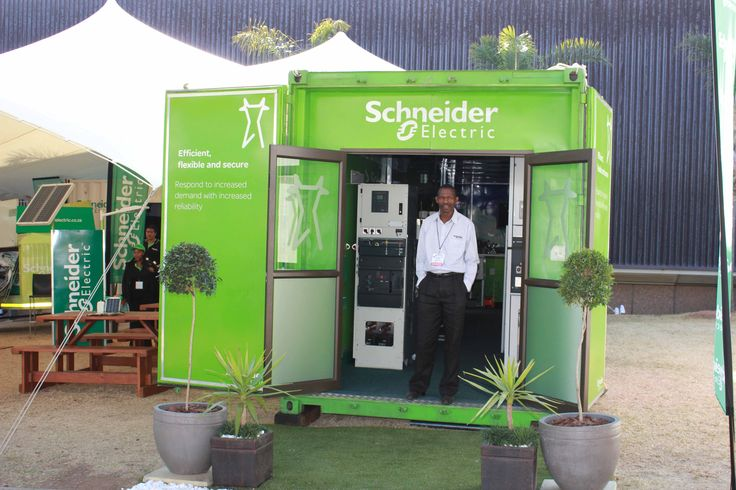 Branded Shipping Container for Exhibition Stand