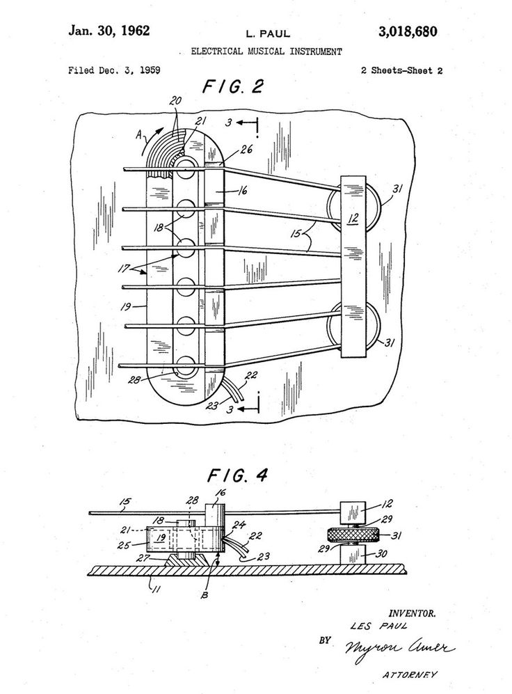 37 best musical instrument patents images on pinterest electric 40 twitter malvernweather Gallery