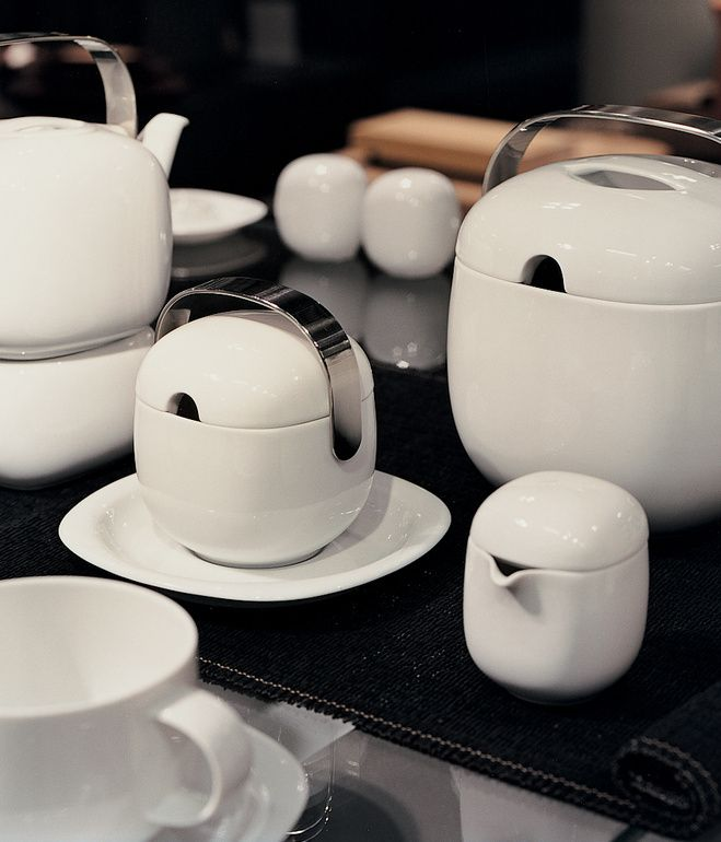 Suomi porcelain serie designed by Timo Sarpaneva (Finland) for Rosenthal 1976.