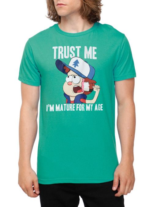 Disney Gravity Falls Mature Dipper T-Shirt