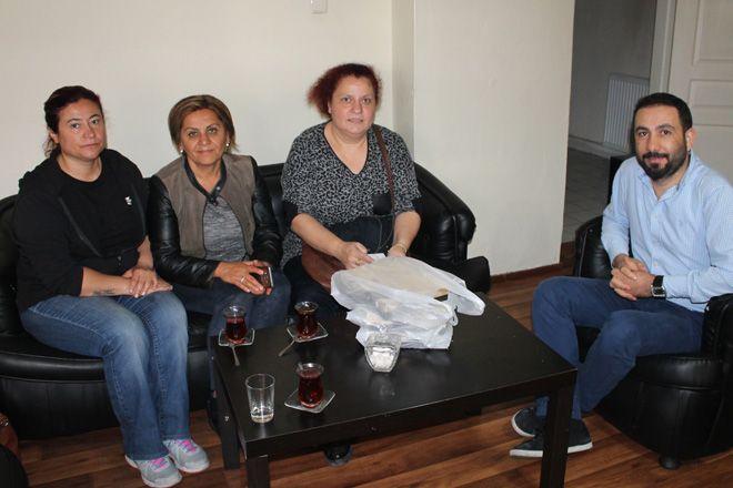 CHP'li kadınlardan gazetemize ziyaret
