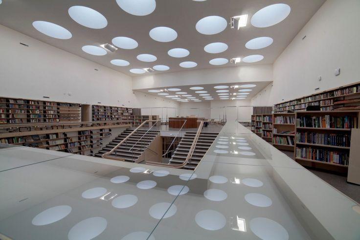 Аалто, библиотека в Выборге, воронки!