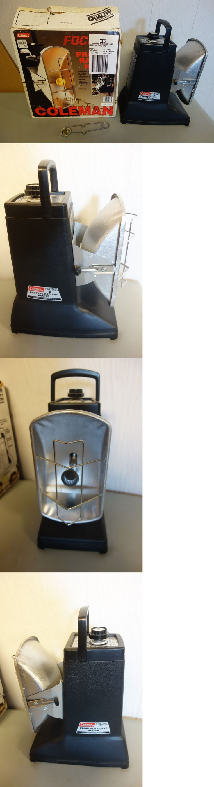 Generators and Heaters 16039: Coleman Focus 5 Propane Radiant Heater ~ 3500-5000 Btu Nos -> BUY IT NOW ONLY: $75 on eBay!