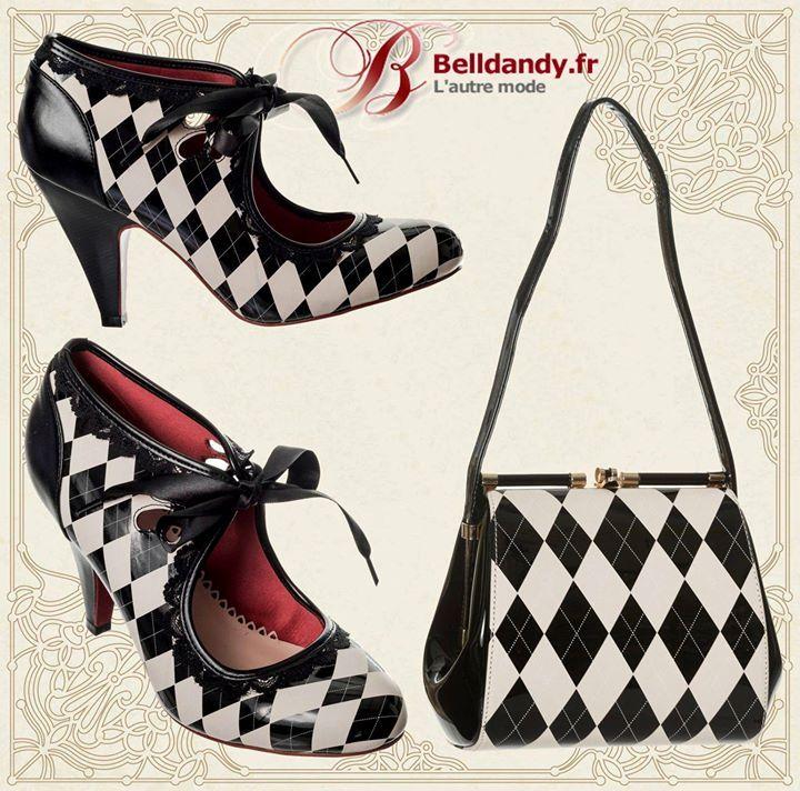 Chaussures Escarpins Pin-Up Rockabilly 50s Vintage Good Vibrations  http://www.belldandy.fr/chaussures-escarpins-pin-up-rockabilly-50-s-vintage-good-vibrations-48264.html  Sac à Main Rétro Pin-Up 50s Glamour Chic Vernis Eleanor  http://www.belldandy.fr/sac-a-main-retro-pin-up-50-s-glamour-chic-vernis-eleanor.html https://www.facebook.com/belldandy.fr/photos/a.338099729399.185032.327001919399/10154686713924400/?type=3