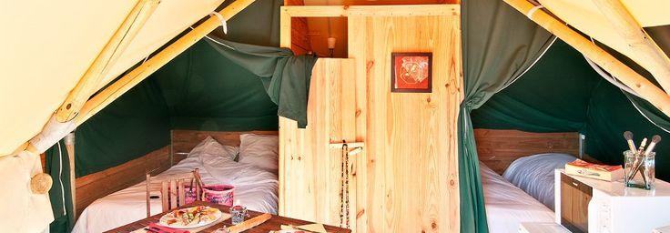 Location vacances Noirmoutier : Fleur de Sel, location saisonnière en camping luxe - Vendee   Domaine Les Moulins