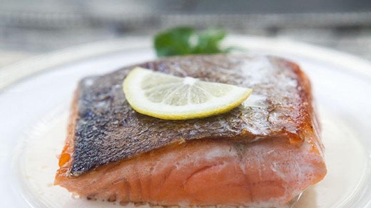 Salmon with Lemon Cream Sauce | Yummies | Pinterest