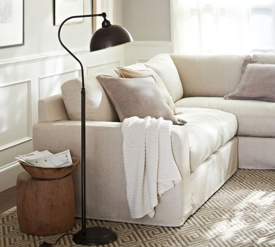 Wayland Task Floor Lamp | Pottery Barn