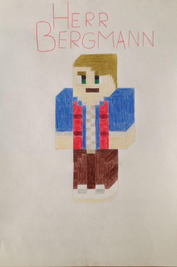 Selbst gezeichnet  Herr Bergmann MinecraftSkin