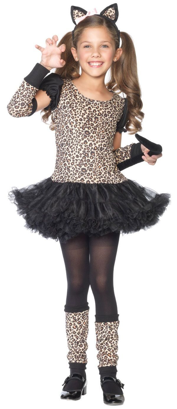 Toddler and Kids Little Leopard Girls Costume