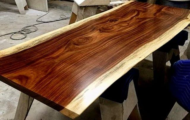 Pin By Indogemstone On Natural Wood Table Natural Wood Table