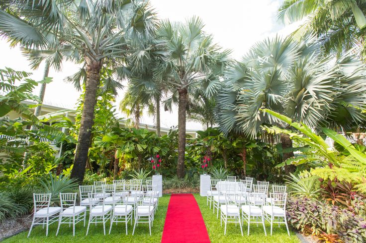 Garden Reception at Shangri-La Hotel, The Marina, Cairns