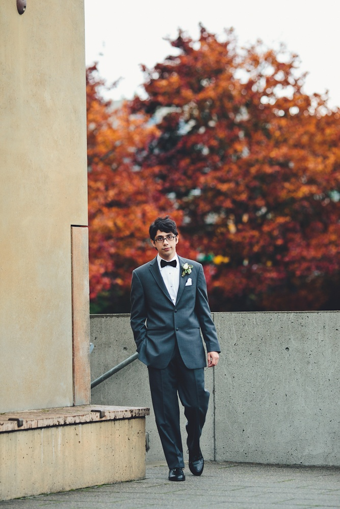 Richard has his GQ-esque shoot. Suit from The Tux Shop.