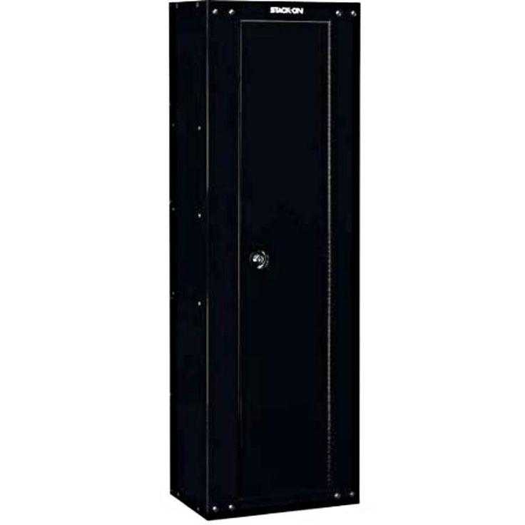 Stack On Gun Safe Hidden Cabinet 8 Rifle Storage Vault Proof Metal Furnitur Fire