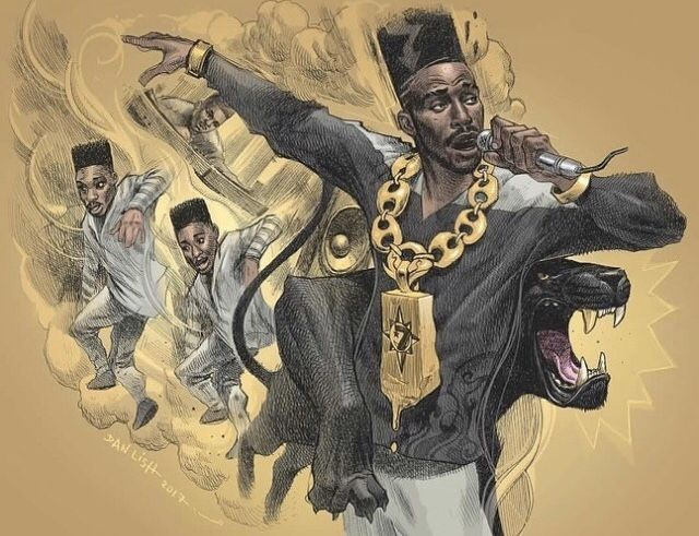 Big Daddy Kane Hip Hop Artwork Hip Hop Art Black Pride Art
