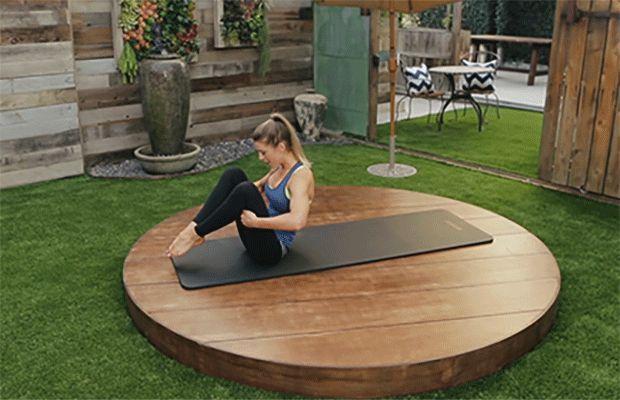 DailyBurn Pilates Workout: Rolling Like a Ball