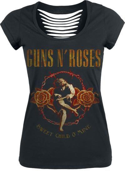 Guns N' Roses camiseta mujer #Rockera #top #GunsNRoses  EMP Online España • Tienda Rock, Heavy Metal, Gótica y Alternativa >  http://emp.me/6mn