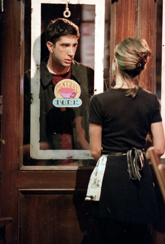 Ross & Rachel. I can remember this like it was yesterday. #friends #friendsshow
