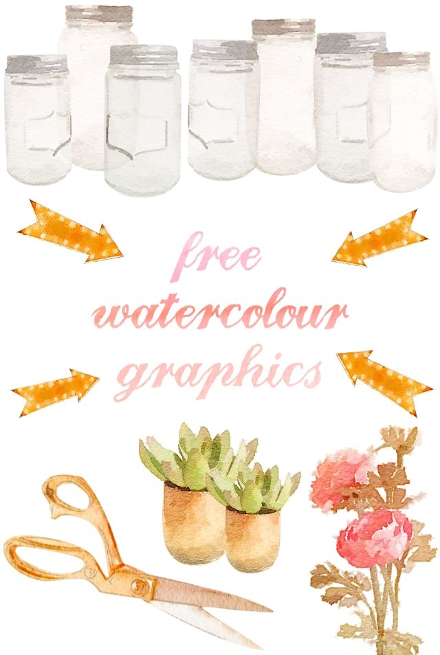 Free Watercolour Graphics.