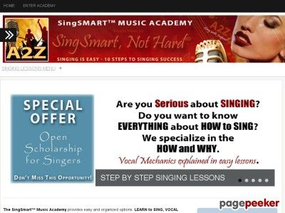 Product Name: Singing Lessons – Learn How To Sing Online   Click here to get Singing Lessons – Learn How To Sing Online at discounted price while it's still available…    All orders are protected by SSL encryption – the highest industry standard for online security from...