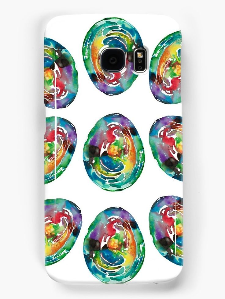 Watercolor in rainbow colors / by ANoelleJay Fashion art design! We Have Cold Winter Teal Turquoise Blue Icey Icy Ice watercolor painting!Summer is far far away! Black and copper bold lines! New York city, @anoellejay @redbubble abstract