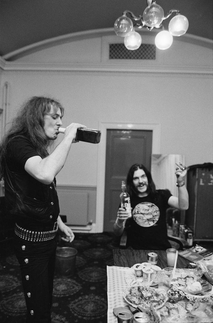 Fast Eddie Clarke & Lemmy Kilmister - Motorhead